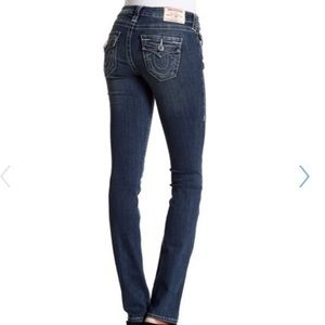 TRUE RELIGION | Straight Leg Jeans | Size 28